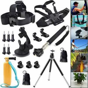 PACK APPAREIL COMPACT OMMI18en1 Accessoires Kits Pour Gopro Hero 1 2 3 4