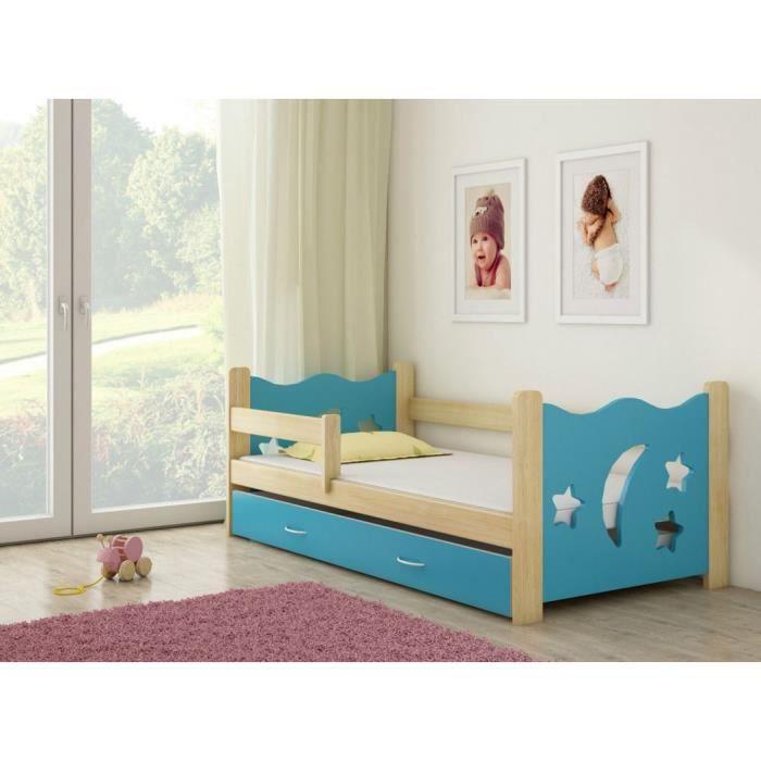 lit en pin tiroir 160 x 80 cm achat vente lit complet lit en pin tiroir 160 x 80 cdiscount. Black Bedroom Furniture Sets. Home Design Ideas