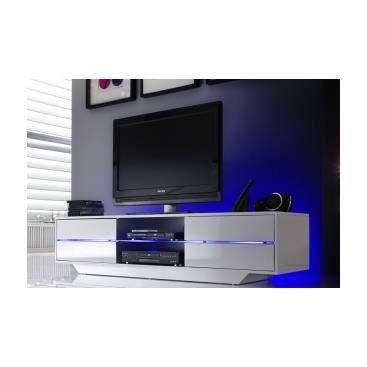 Meuble tv avec led pas cher maison design for Banc tv design pas cher