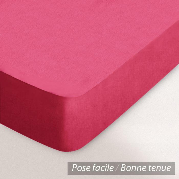 drap housse coton 120x190 kerala achat vente drap. Black Bedroom Furniture Sets. Home Design Ideas