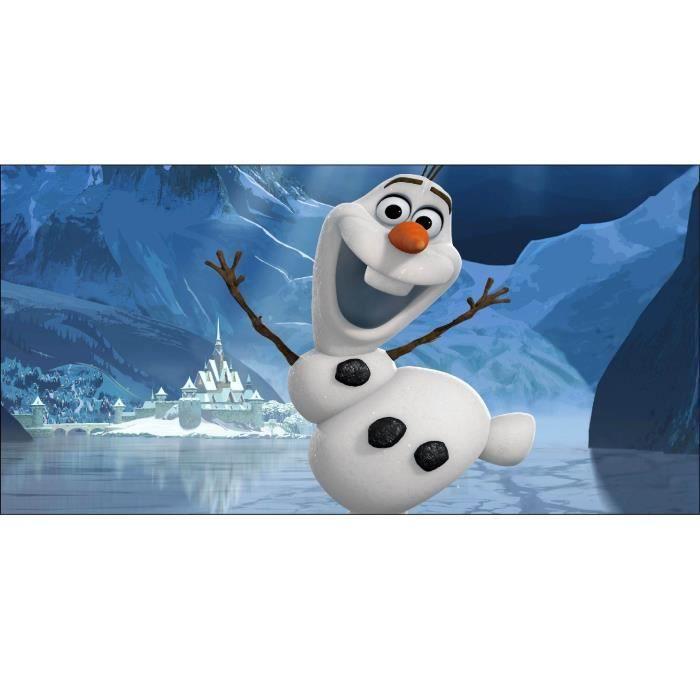 Stickers chambre d enfant t te de lit la reine des neiges r f 8474 dimensions - Dimension lit d enfant ...