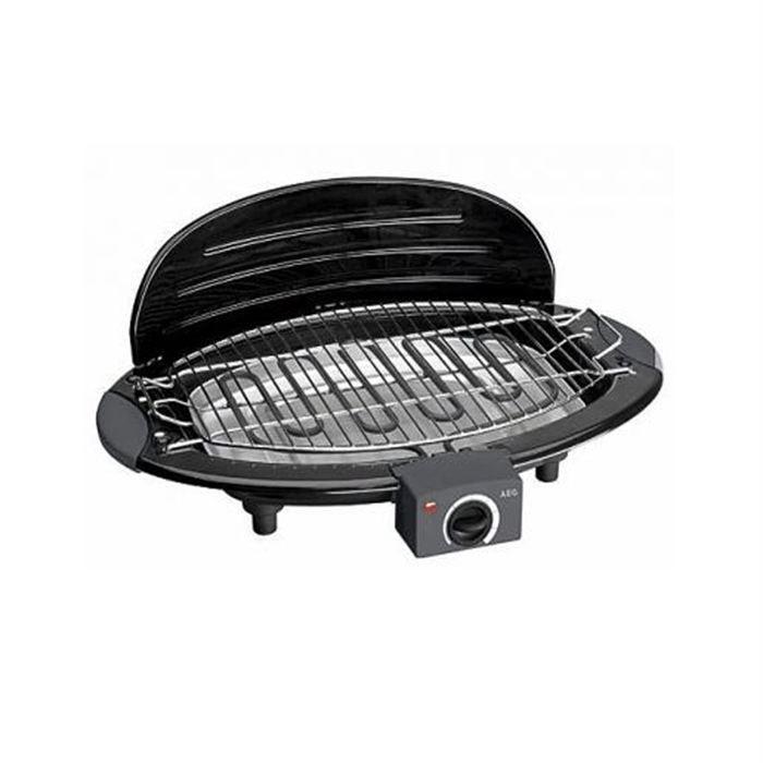 Grill de table barbecue aeg bq 5514 noir achat vente - Grill electrique de table ...