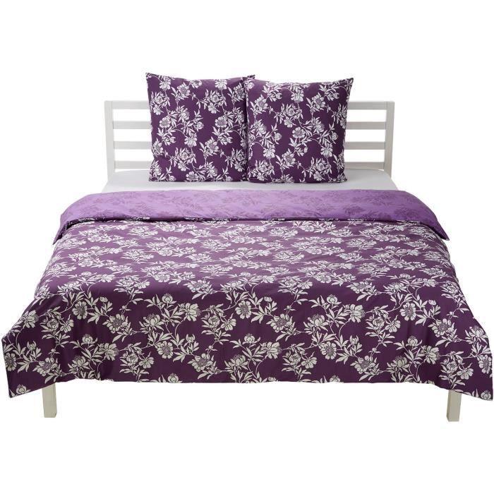linge de lit parure de drap amazonbasics parure de achat vente parure de drap cdiscount. Black Bedroom Furniture Sets. Home Design Ideas
