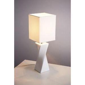 Luminaire lustre lampe lampe de table blanche made achat for Lampe de table blanche