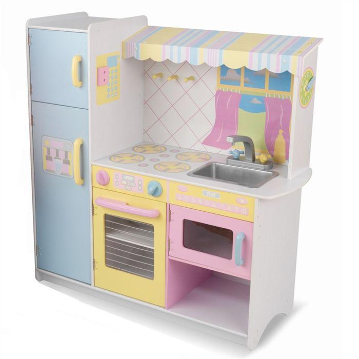 Dinette cuisine kidkraft cuisine enfant pastel - Cuisine kidkraft avis ...