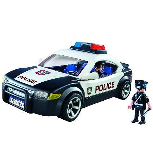 voiture police playmobil 5614 achat vente figurine personnage cdiscount. Black Bedroom Furniture Sets. Home Design Ideas