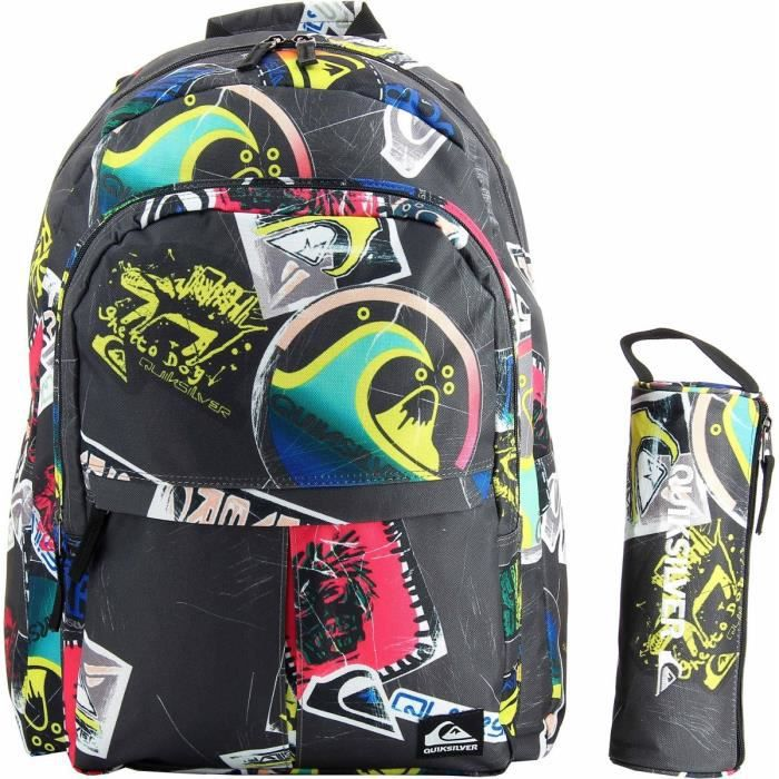 sac dos scolaire quiksilver achat vente sac dos. Black Bedroom Furniture Sets. Home Design Ideas
