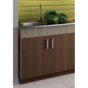 meuble sous evier avec evier achat vente meuble sous. Black Bedroom Furniture Sets. Home Design Ideas