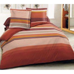 housse couette 220x220 flanelle achat vente housse couette 220x220 flanelle pas cher cdiscount. Black Bedroom Furniture Sets. Home Design Ideas