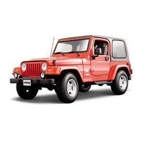 VOITURE À CONSTRUIRE Modèle réduit - Jeep Wrangler Sahara - Gold