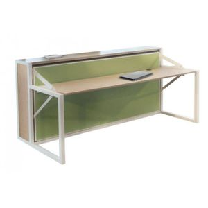 Lit escamotable bureau achat vente lit escamotable bureau pas cher cdis - Structure lit escamotable ...