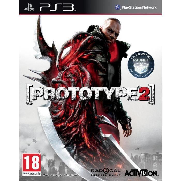 JEUX PS3 PROTOTYPE 2 / Jeu console PS3