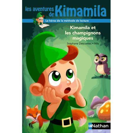 kimamila et les champignons magiques achat vente livre st phane descornes nils nathan. Black Bedroom Furniture Sets. Home Design Ideas