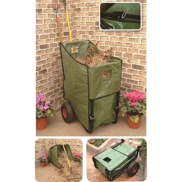 poubelle de jardin sur roues achat vente brouette. Black Bedroom Furniture Sets. Home Design Ideas