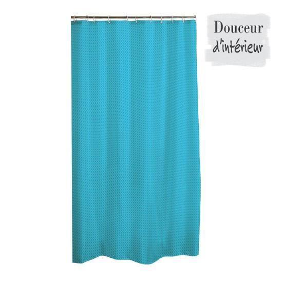 rideau de douche tissu pour salle de bainuni diamant180x h200 cm100 polyesteroeillets perfor s. Black Bedroom Furniture Sets. Home Design Ideas