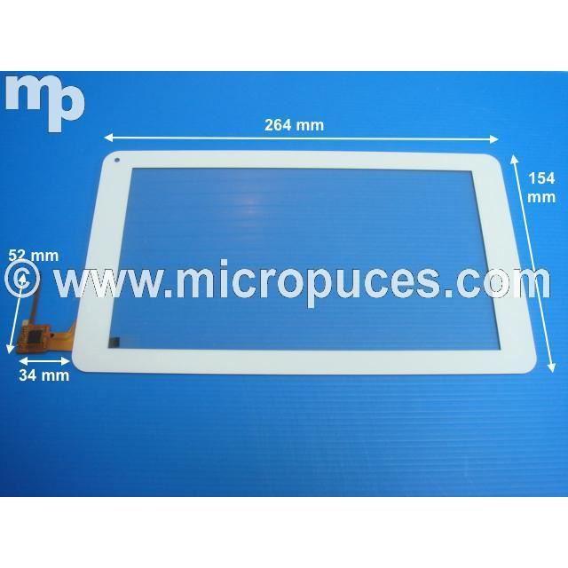 informatique ecran pc vitre tactile blanche pour archos c neon f  auc