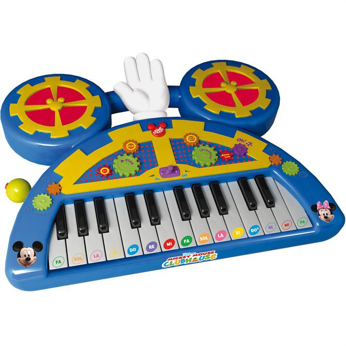 clavier musical mickey pas cher achat vente instrument. Black Bedroom Furniture Sets. Home Design Ideas