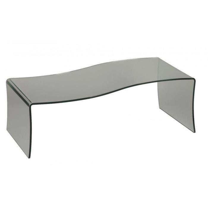 Table basse opale en verre achat vente table basse - Table basse en verre cdiscount ...