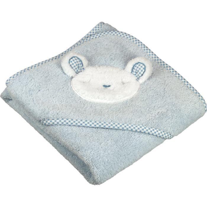 cape de bain en forme de mouton sensei la maison du coton ciel taille 75 x 75 cm achat. Black Bedroom Furniture Sets. Home Design Ideas