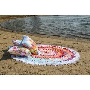 serviette de plage achat vente serviette de plage pas cher cdiscount. Black Bedroom Furniture Sets. Home Design Ideas