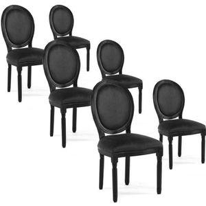 Chaises de salle a manger en velours achat vente for Chaise de salle a manger velours