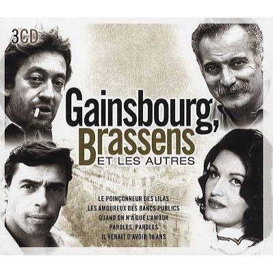 Gainsbourg brassens et les autres achat cd cd vari t - Brassens les amoureux des bancs publics ...