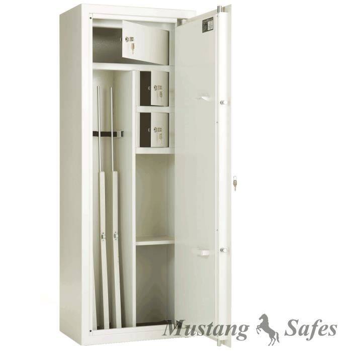 armoire forte pour 4 armes et nombreux rangements achat. Black Bedroom Furniture Sets. Home Design Ideas