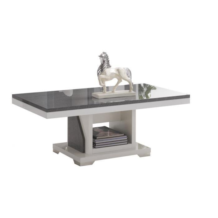Table basse de salon grise - Achat / Vente Table basse de salon ...   {Table de salon grise 59}