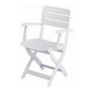 Fauteuil de jardin venezia achat vente chaise for Chaise kettler blanche