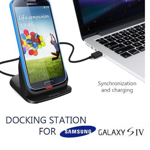 dock chargeur samsung galaxy s4 station d 39 accueil achat. Black Bedroom Furniture Sets. Home Design Ideas