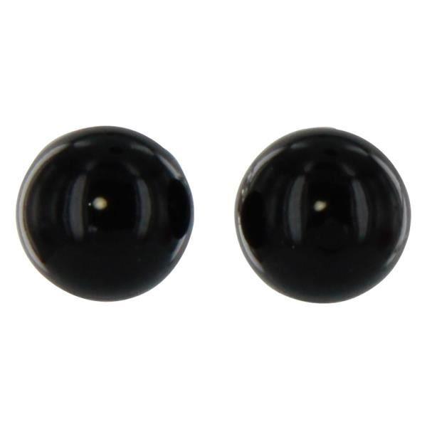 boucles d 39 oreilles perle noir onyx en argent achat vente boucle d 39 oreille boucles d 39 oreilles. Black Bedroom Furniture Sets. Home Design Ideas