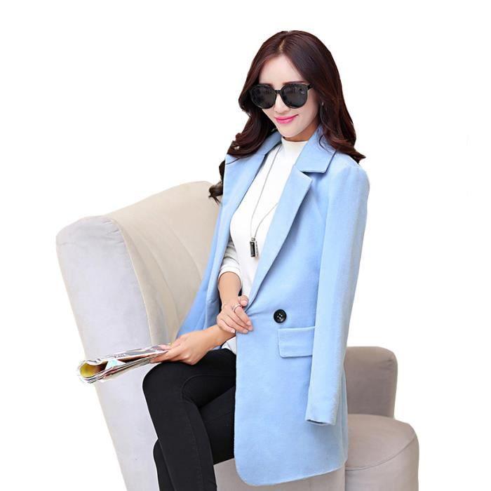 fashion manteau femme veste caban gris chaud hi rouge. Black Bedroom Furniture Sets. Home Design Ideas