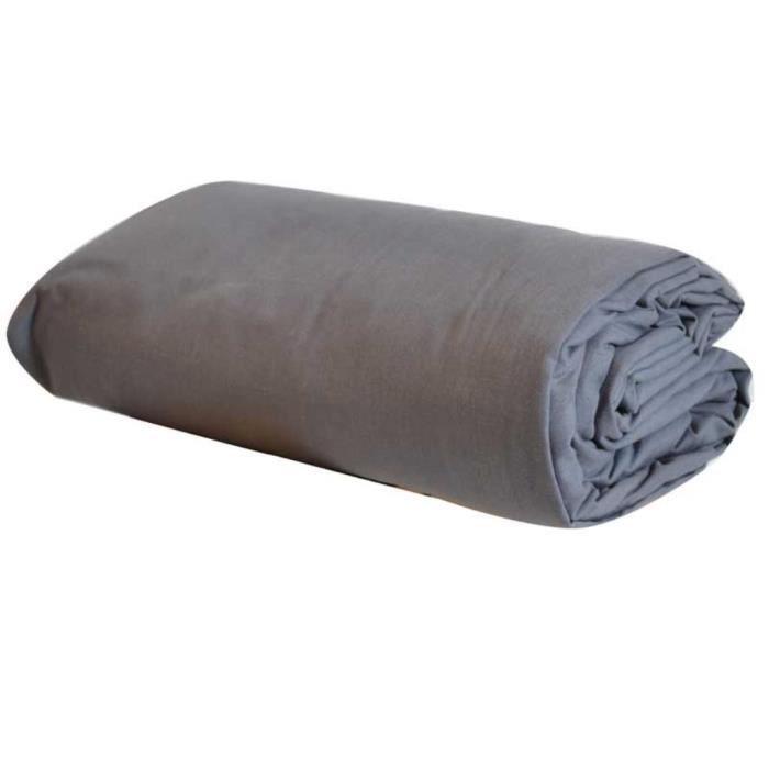 Drap housse acier pour lit t te et pied relev achat vente drap housse cdiscount - Lit tete et pied relevable ...