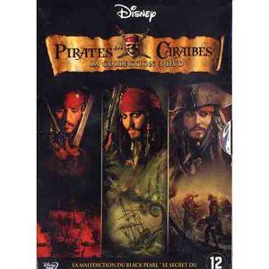 DVD FILM COFFRET PIRATES DES CARAIBES, La trilogie