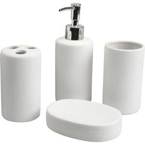 Coffret accessoires salle de bain achat vente coffret - Accessoire de salle de bain pas cher ...