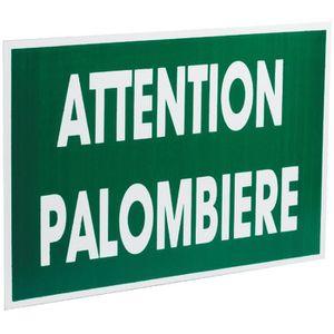 ACCESSOIRES BATTUE Panneau - Attention palombiere