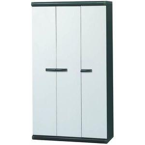 armoire en resine 3 portes achat vente armoire en. Black Bedroom Furniture Sets. Home Design Ideas