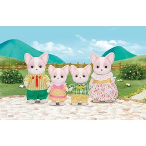 FIGURINE - PERSONNAGE SYLVANIAN FAMILIES 3149 Famille Chihuahua