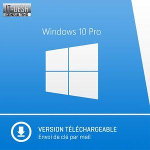 LOGICIEL À TÉLÉCHARGER Windows 10 Professionnel