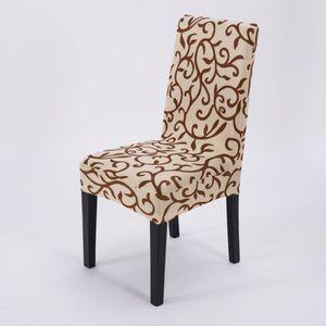 Housses de chaises extensible achat vente housses de - Housse de chaise haute ...