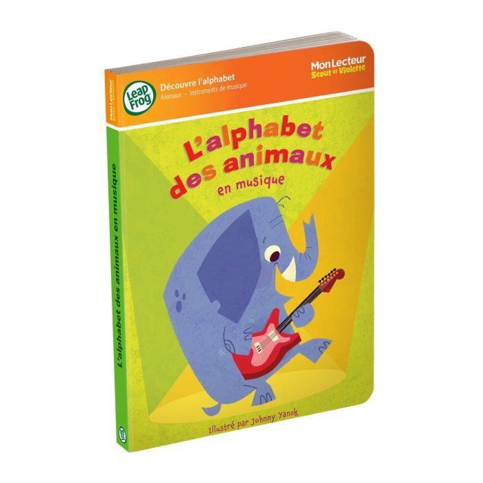 Leapfrog mon lecteur scout et violette l 39 alphabet achat - Leapfrog table d eveil musical des animaux ...