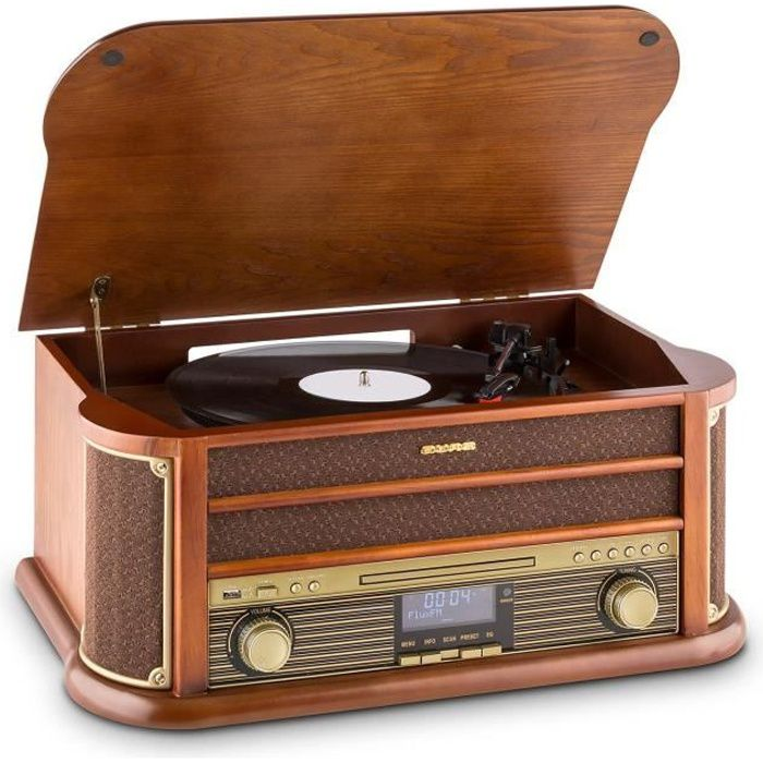 Old Fashioned Stereo Speakers