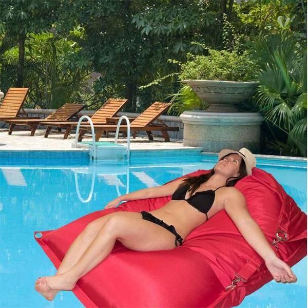 Bigbao coussin d 39 ext rieur et de piscine lavable - Coussin pour piscine ...