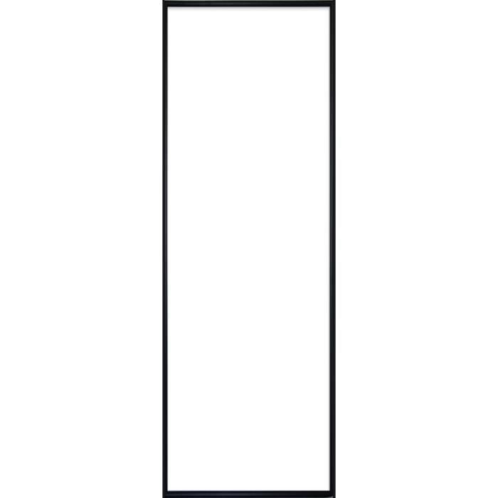 cadre pour poster en plastique noir format 33 x 95 cm. Black Bedroom Furniture Sets. Home Design Ideas