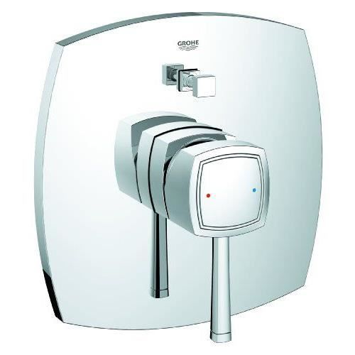 grohe fa ade pour mitigeur thermostatique encastr bain douche grandera 19920000 import. Black Bedroom Furniture Sets. Home Design Ideas