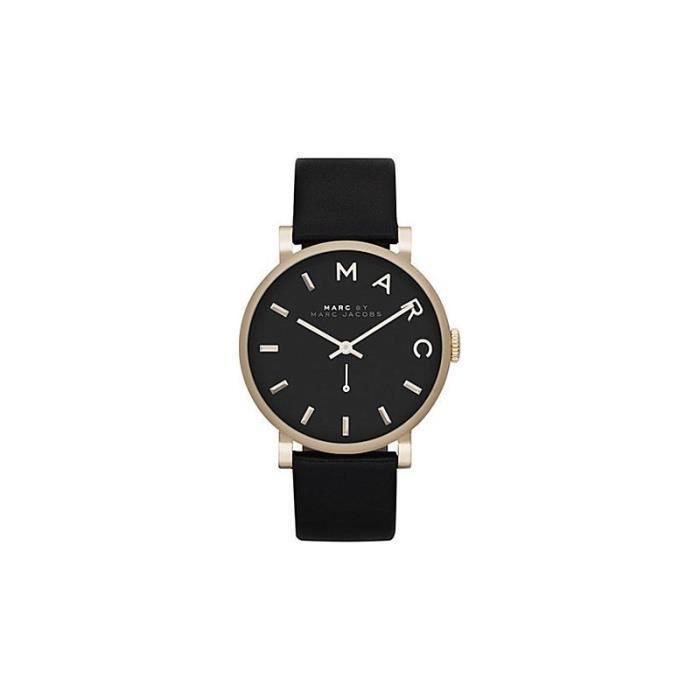 montre femme marc by marc jacobs mbm1269 bracelet cuir achat vente montre cdiscount. Black Bedroom Furniture Sets. Home Design Ideas
