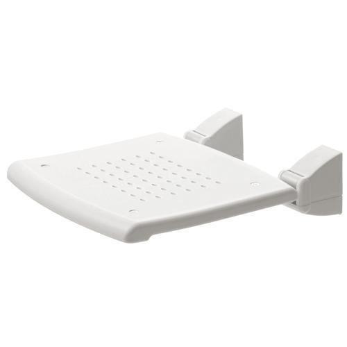 siege de douche rabattable plastique blanc robusto achat vente douchette flexible siege. Black Bedroom Furniture Sets. Home Design Ideas