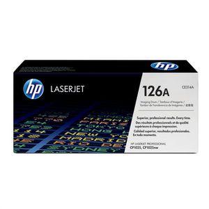 Tambour d'imagerie HP 126A - 1400 pages en noir et 7000 pages en couleur - Compatible LaserJet Pro CP1025/CP1025nw
