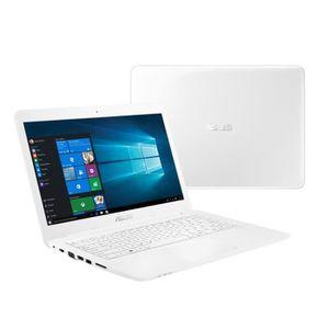 """Asus EeeBook PC Portable Blanc - E402SA-WX014T - 14"""" - Intel® Celeron® - 2Go de RAM - Stockage"""