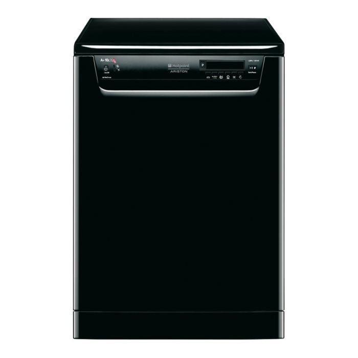 Hot point ldfa 12h14beu lave vaisselle 14 couvert achat - Lave vaisselle noir brillant ...